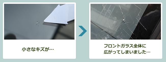 フロントガラス修理(リペア)