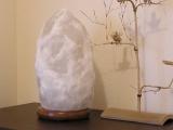 ホワイト岩塩ランプ