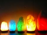カラー電球使用(ホワイト岩塩)