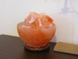 ファイアー岩塩ランプ