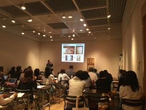 専門研修「伝統産業」における講義