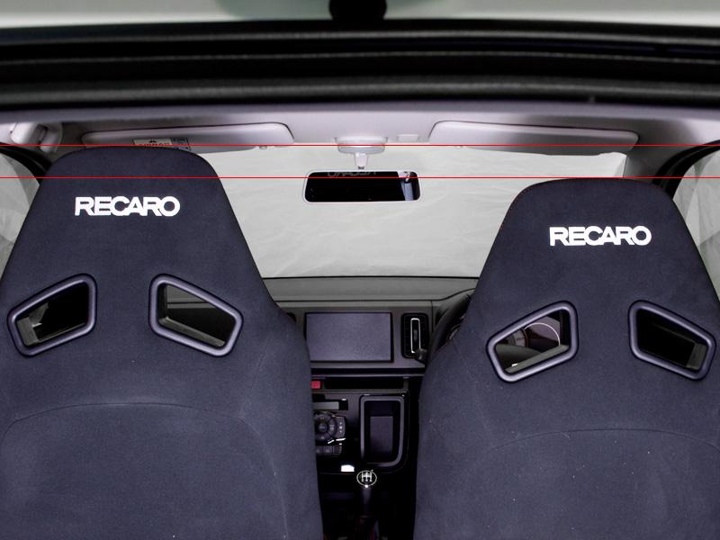 新型アルトワークス用 ローポジションシートレールアダプター