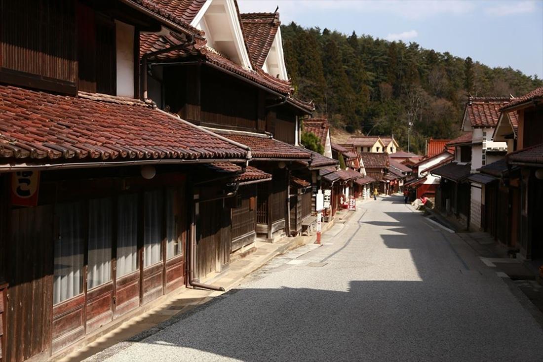 岡山県高梁市吹屋ふるさと村イメージ