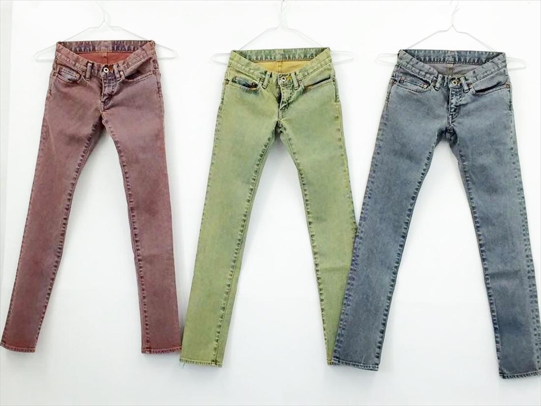 カラーベンガラ染めジーンズイメージ