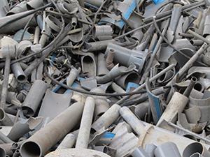 廃プラスチック類(塩ビ管)