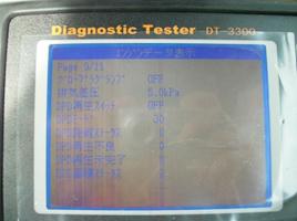 洗浄前 無負荷最大排気差圧測定5.0kPa