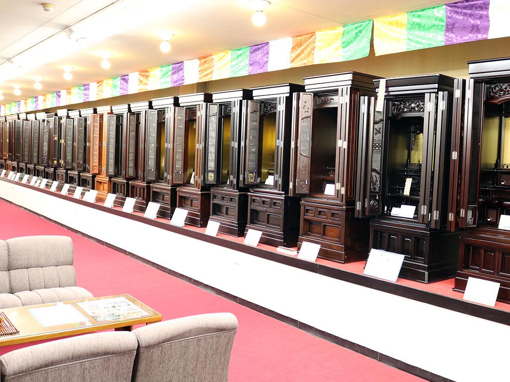 仏壇のシメノ堺鳳店唐木仏壇