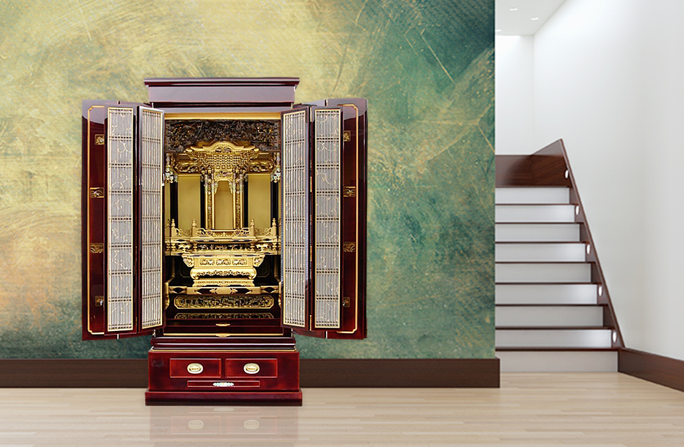 最高級総溜塗輪島塗仏壇イメージ写真