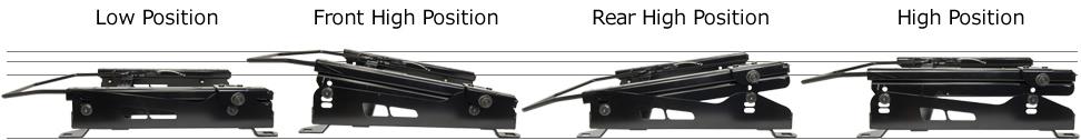 HA36V用 シートレール 底止め式