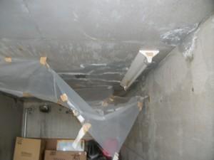 掘り込み車庫の屋根