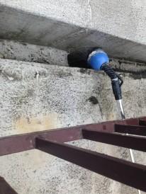 天王寺区木造住宅の雨漏調査